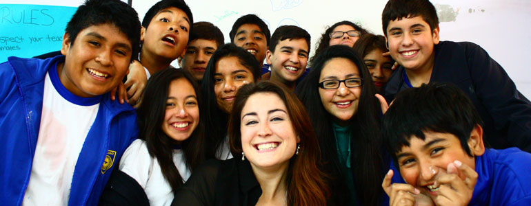 volunteer in chile