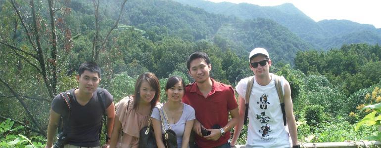 Tea mountain near Hangzhou City