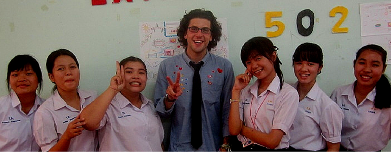 Get Paid to Teach English in Thailand
