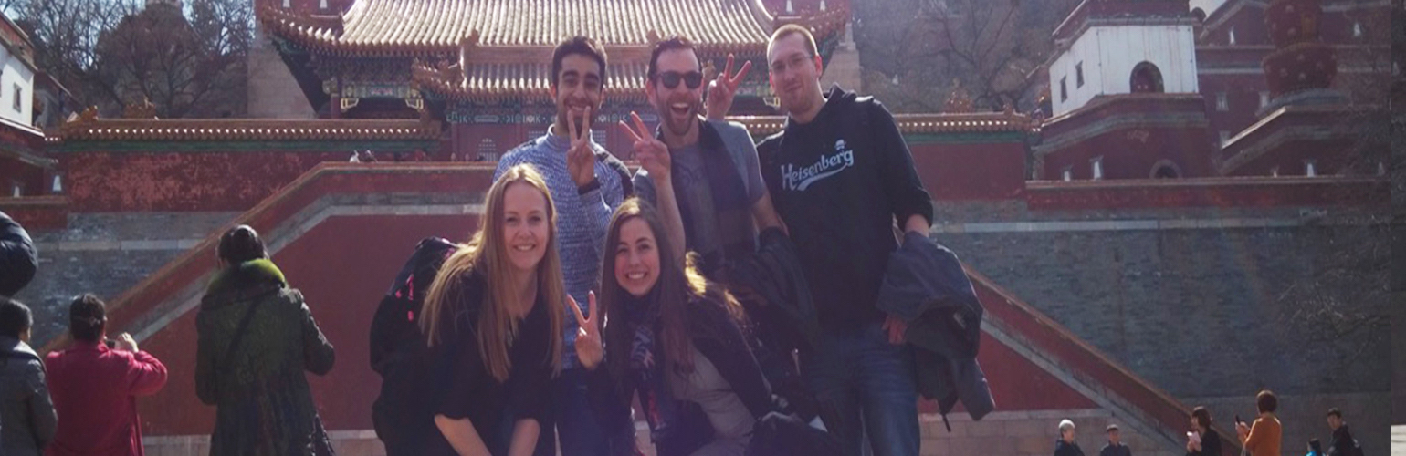 China Internship Placements Header Image