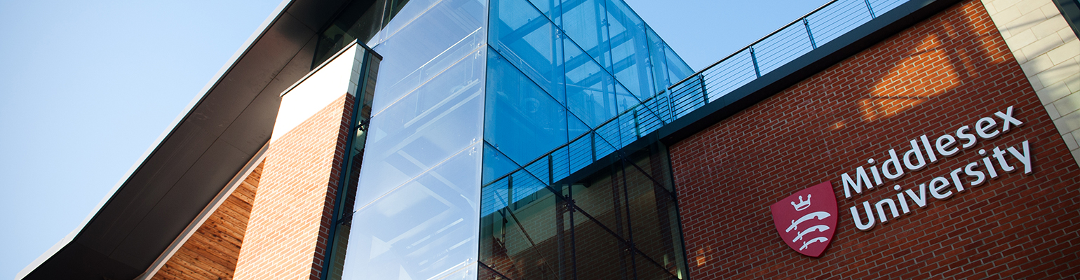 Middlesex University, London Header Image
