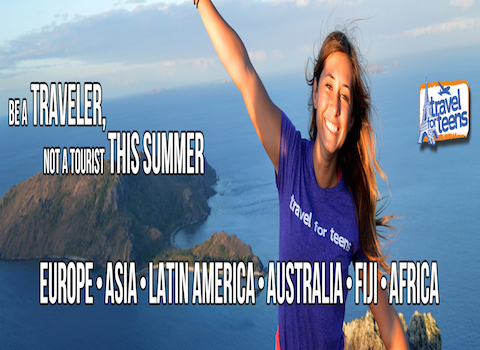 Travel For Teens Header Image