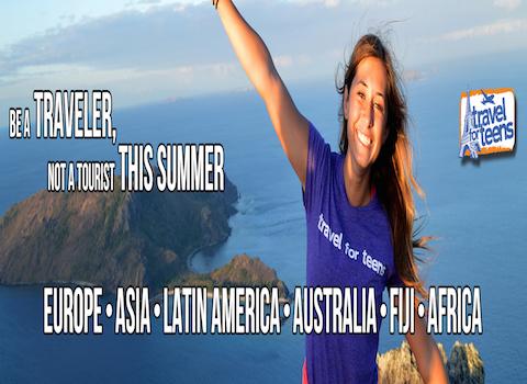 Travel For Teens Header Image