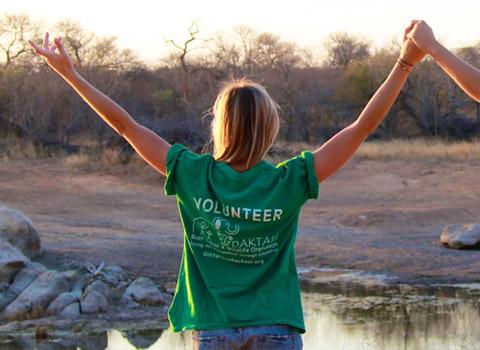 DAKTARI Bush School & Wildlife Orphanage volunteers in South Africa