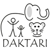 DAKTARI Bush School & Wildlife Orphanage Logo