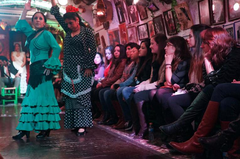 A Flamenco show in Granada