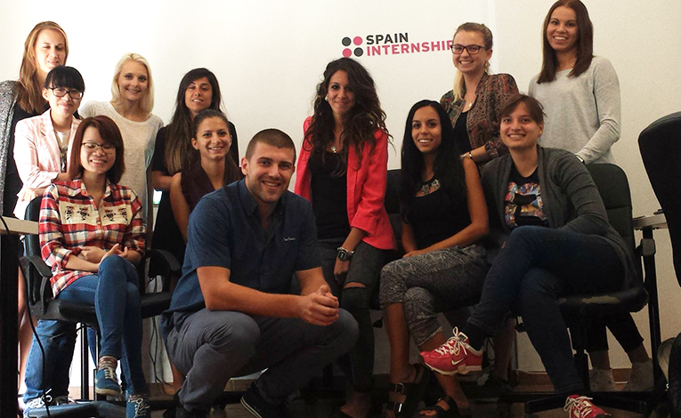 Spain Internship office