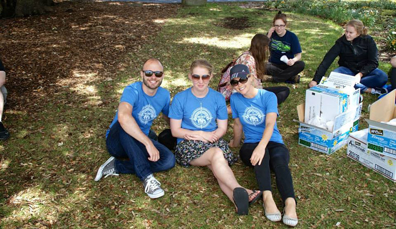 TEAN staff members during the TEAN NZ Auckland orientation.