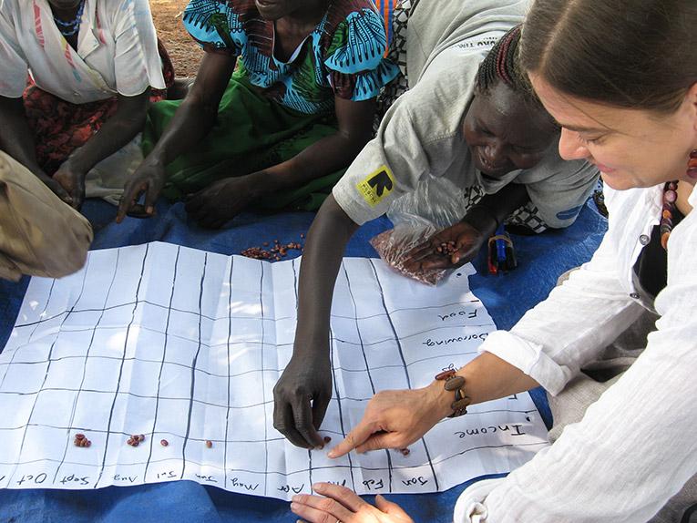 Volunteering with children in Uganda