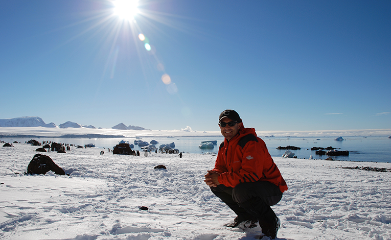 Sunny day in Antarctica