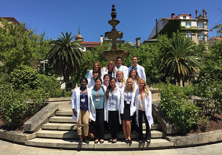 Medical interns in Ourense, Spain