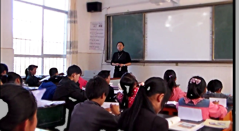 Ameson fellow teaching in China