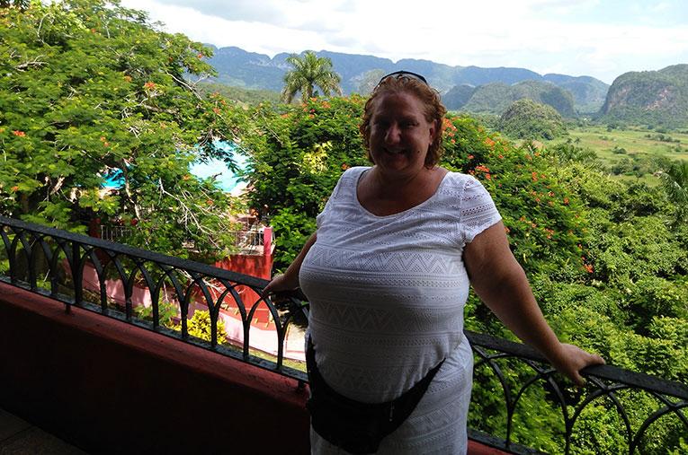 View of Vinales Valley in Western Cuba