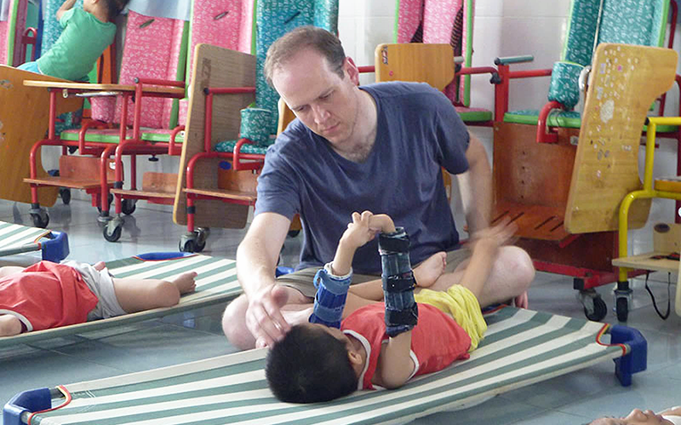 Orphanage for children with disabilities in Ho Chi Minh City, Vietnam