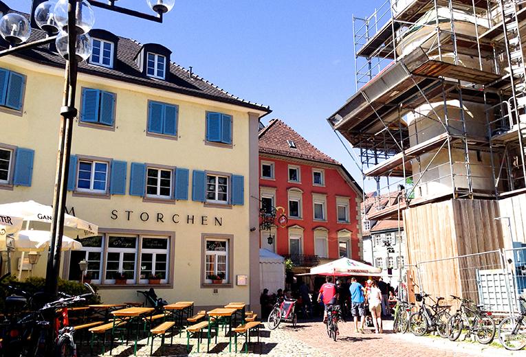 Oberlinden in Freiburg, Germany