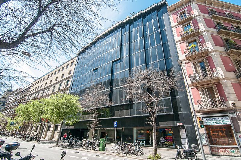 Oxford TEFL building in Barcelona, Spain