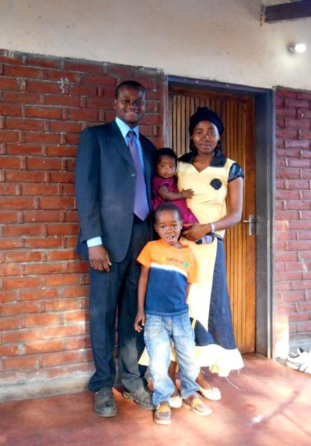 Sam Galanje and his family