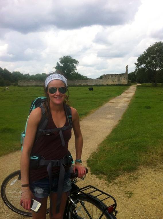 Cycling through Oxfordshire, England