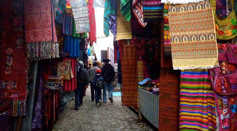 Market in Chichicastenango, Guatemala
