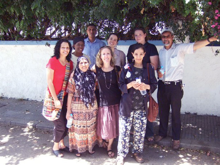 English teachers in Rabat, Morocco