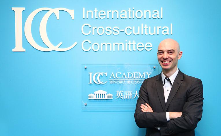 Jonathan Garnier, Internship Consultant for International Cross-Cultural Commitee