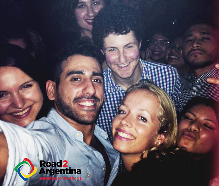 Road2Argentina staff members at Rosebar