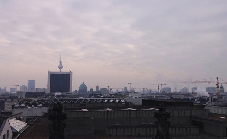 View of Berlin from the Deutscher Bundestag