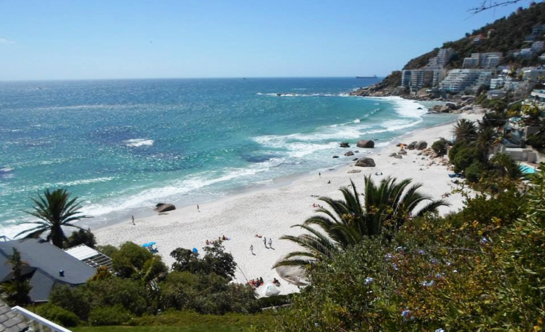 Coastline in Cape Town, South Africa