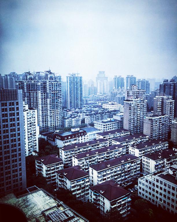 View of Shanghai, China