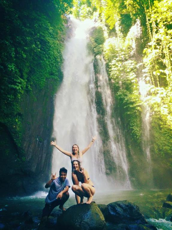 Waterfalls in Bali, Indonesia