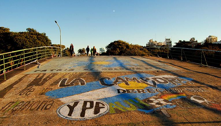 Bridge in Buenos Aires, Argentina