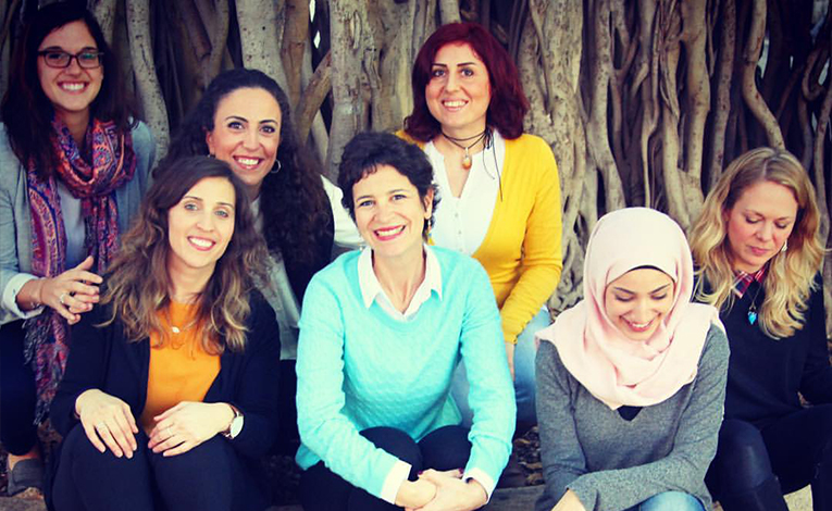 Office of International Programs staff at the American University of Beirut