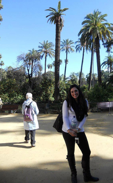 Murillo Gardens in Santa Cruz, Sevilla, Spain