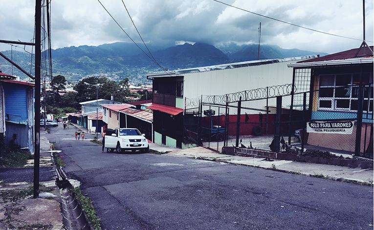 Barrio Cuba in San Jose, Costa Rica