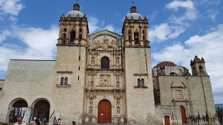 Santo Domingo Cathedral in Oaxaca, Mexico