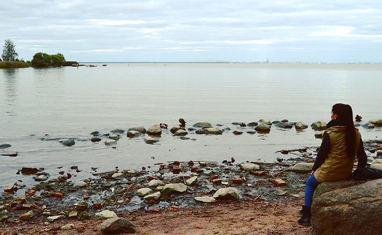 The Gulf of Finland, Russia
