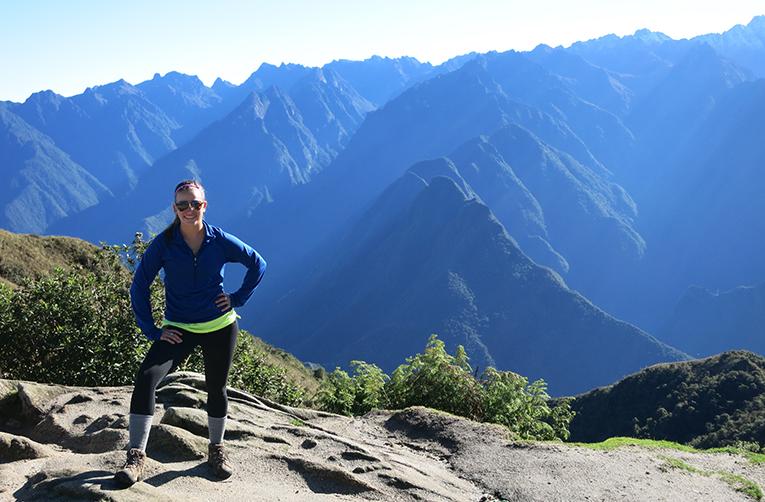 Hiking on the Inca Trail in Peru