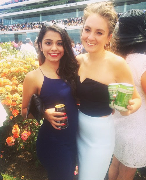 Girls attending the Melbourne Cup