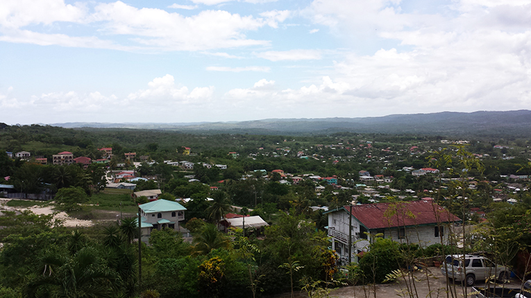 View of San Ignacio, Belize