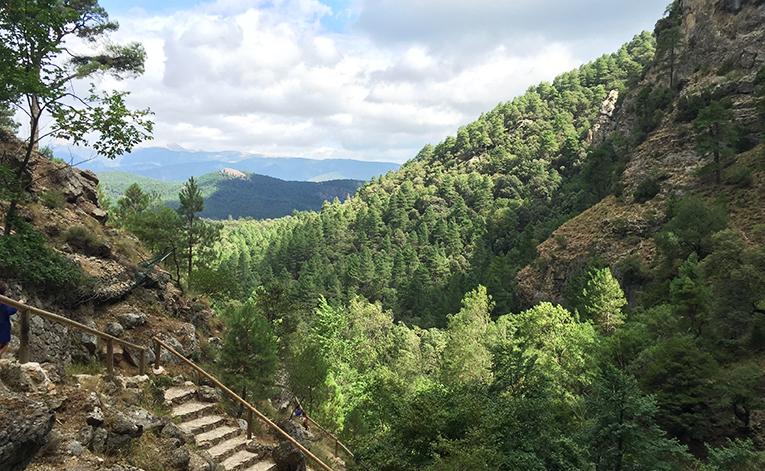 Mountain view in Riópar, Spain