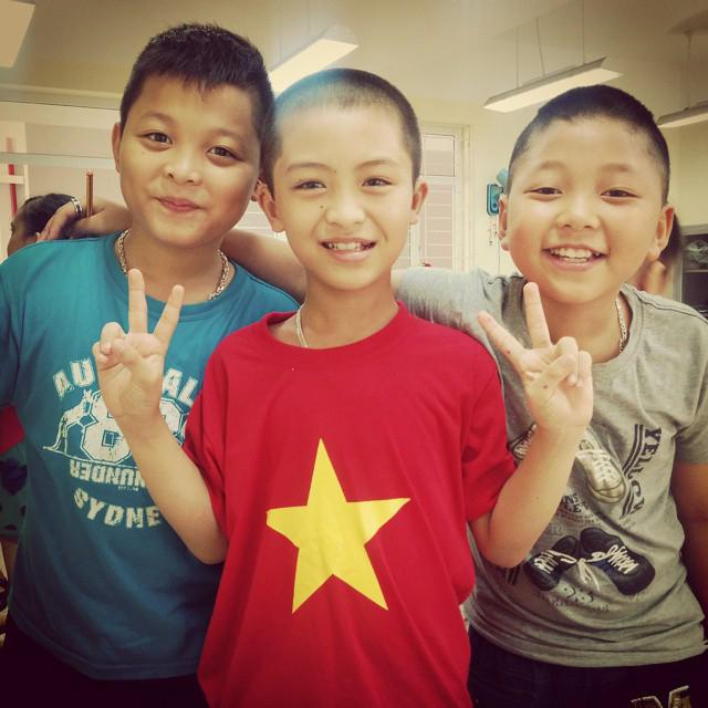 Vietnamese primary students
