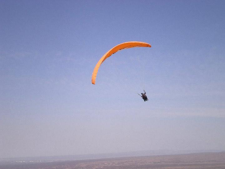 Paragliding over Mendoza, Argentina
