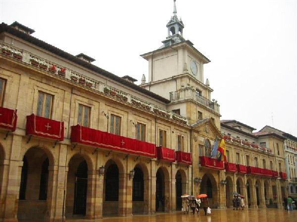 Burgos Town Hall in Spain
