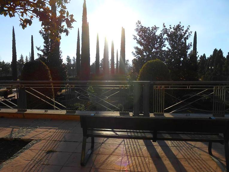Park Federico García Lorca in Granada, Spain