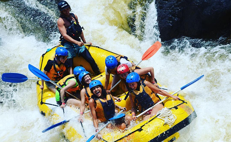 Whitewater rafting, Tully River, Queensland, Australia