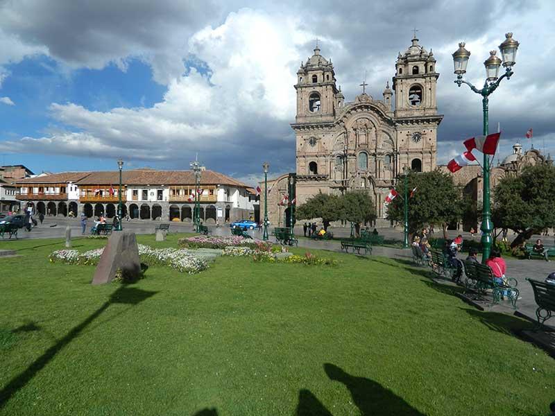 La Plaza de Armas of Cusco, Peru