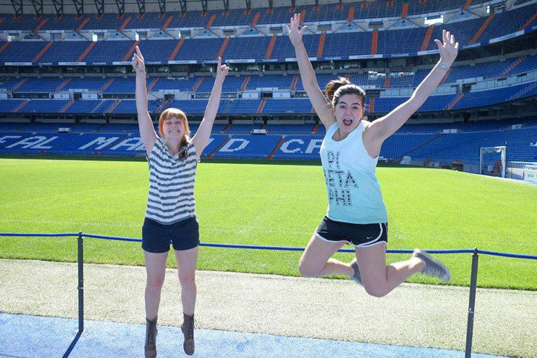 Tour of the Santiago Bernabeu Football stadium in Spain