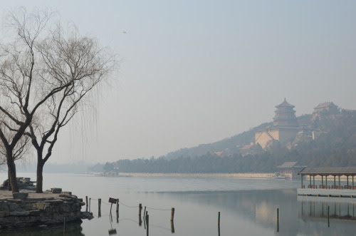 View of the Summer Palace in China
