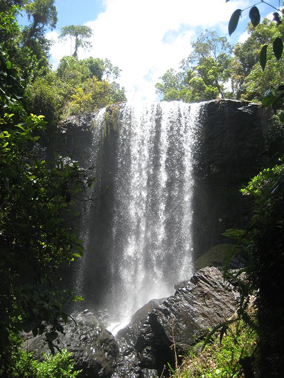 Zillie falls in Australia