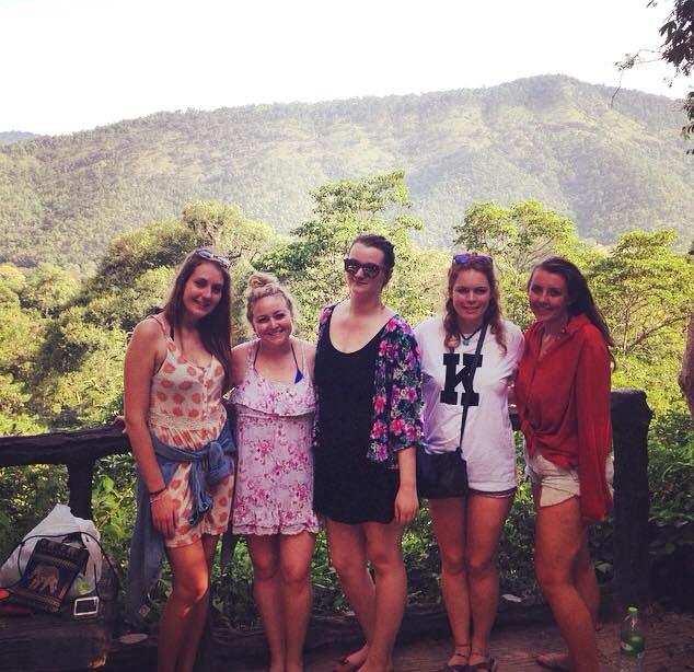 Mountain view in Kanchanaburi, Thailand